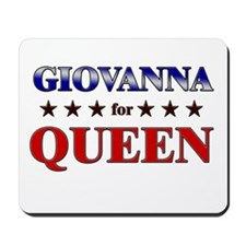 GIOVANNA for queen Mousepad