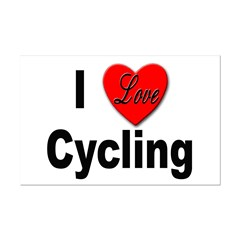 I Love Cycling Posters
