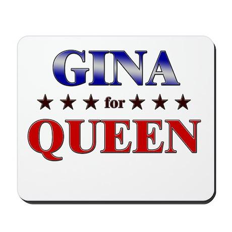 GINA for queen Mousepad