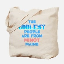 Coolest: Minot, ME Tote Bag