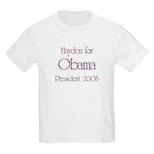 Hayden for Obama 2008 T-Shirt