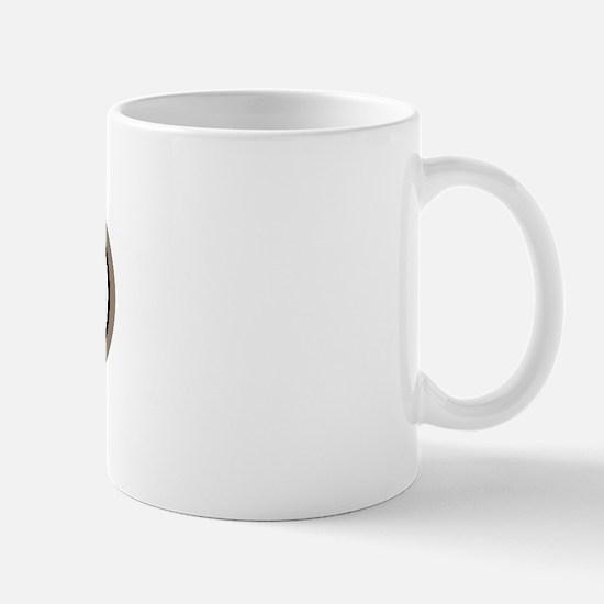 Doberman Dog Oval Mug
