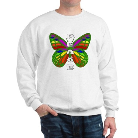 Peace Butterfly Sweatshirt