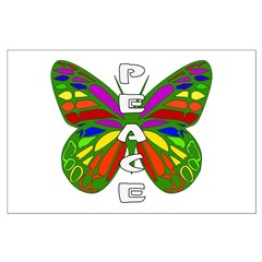 Peace Butterfly Posters