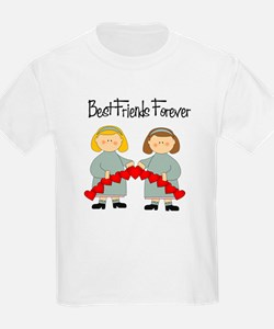 BFF Hearts-Best Friends T-Shirt