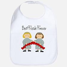 BFF Hearts-Best Friends Bib