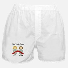 BFF Hearts-Best Friends Boxer Shorts