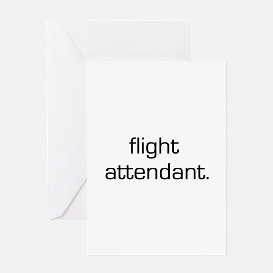 Flight Attendant Greeting Card