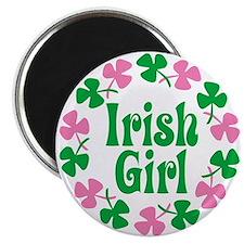 """Irish Girl 2.25"""" Magnet (10 pack)"""