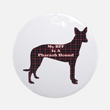 BFF Pharaoh Hound Ornament (Round)