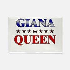 GIANA for queen Rectangle Magnet