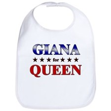 GIANA for queen Bib