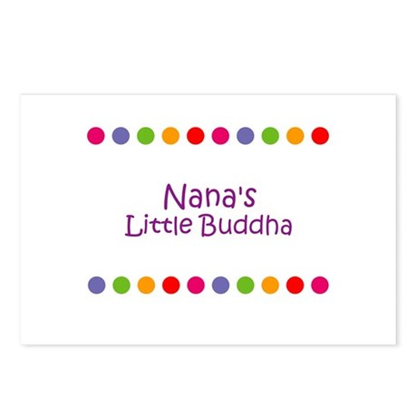 Nana's Little Buddha Postcards (Package of 8)