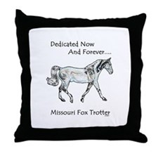 Missouri Fox Trotter Throw Pillow