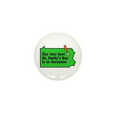 Scranton St Patricks Day Parade Mini Button (10 pa
