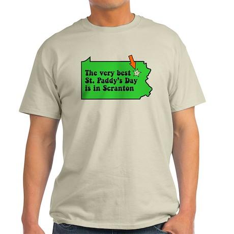 Scranton St Patricks Day Parade Light T-Shirt