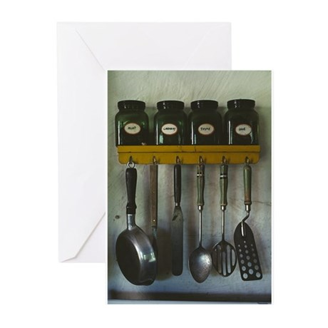 Kitchen Gear Greeting Cards (Pk of 10)