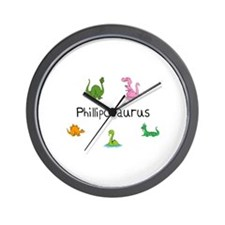 Philliposaurus Wall Clock