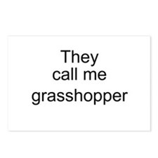 They call me grasshopper Postcards (Package of 8)