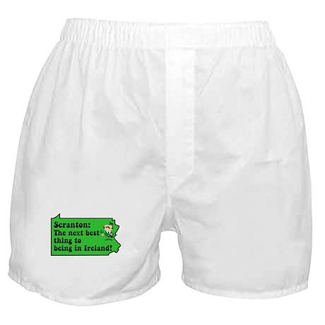 Scranton St Patricks Day Parade Boxer Shorts