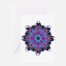 Kaleidoscope 005b2 Greeting Card