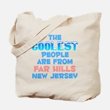 Coolest: Far Hills, NJ Tote Bag