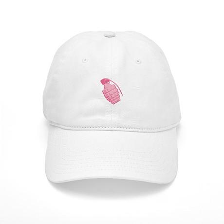 Pink Grenade Cap