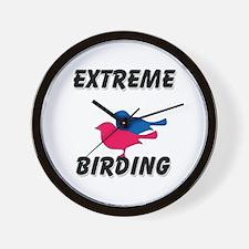Extreme Birding Wall Clock