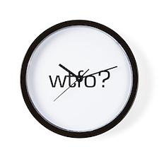 WTFO? Wall Clock