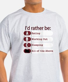 I Rather Be T-Shirt