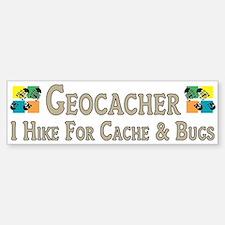 Geocacher Bumper Bumper Bumper Sticker