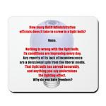 How many bush administration  Mousepad
