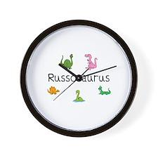 Russosaurus Wall Clock