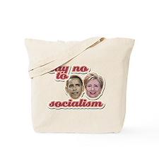 Say No To Socialism Tote Bag