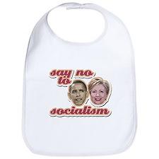 Say No To Socialism Bib