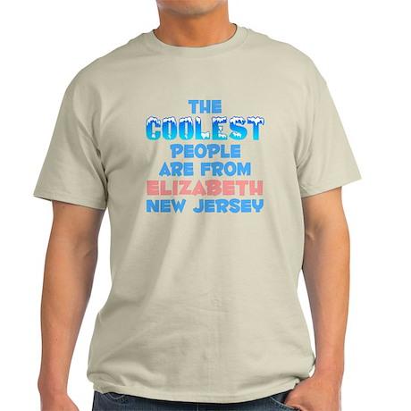 Coolest: Elizabeth, NJ Light T-Shirt