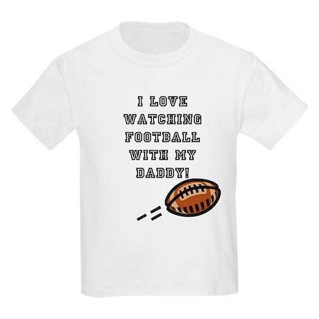 football with dad Kids Light T-Shirt