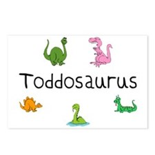 Toddosaurus Postcards (Package of 8)