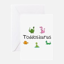 Toddosaurus Greeting Card
