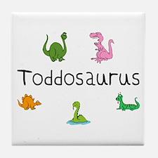 Toddosaurus Tile Coaster