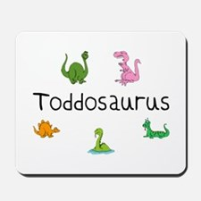 Toddosaurus Mousepad