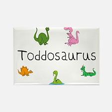 Toddosaurus Rectangle Magnet