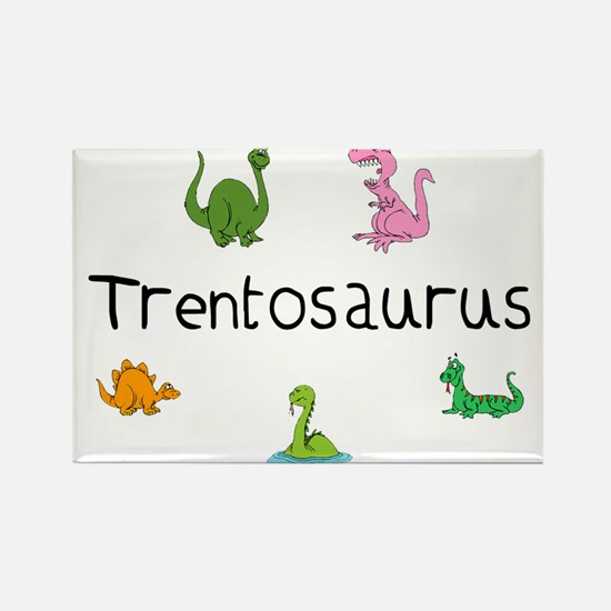 Trentosaurus Rectangle Magnet