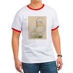 Indigo Tumbler Pigeon Ringer T