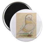 Indigo Tumbler Pigeon Magnet