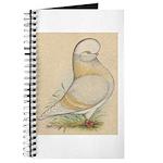 Indigo Tumbler Pigeon Journal