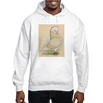 Indigo Tumbler Pigeon Hooded Sweatshirt