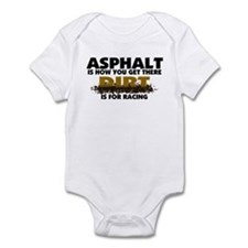 Dirt Is For Racing Infant Bodysuit