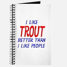I Like Trout Journal