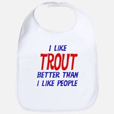 I Like Trout Bib
